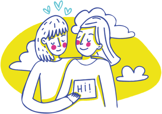 Drawing Friends